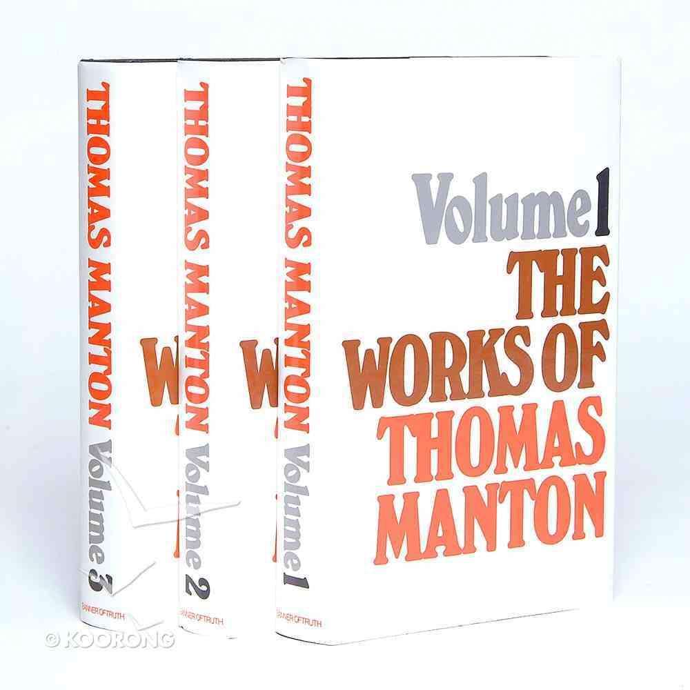 Works of Thomas Manton (3 Vol Set) Pack