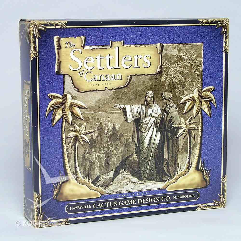 Board Game: Settler's of Canaan Game
