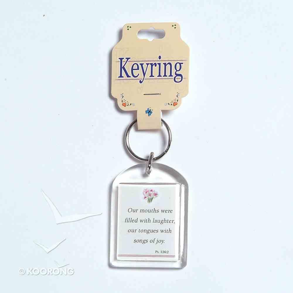 Plastic Keyring: Joy Novelty