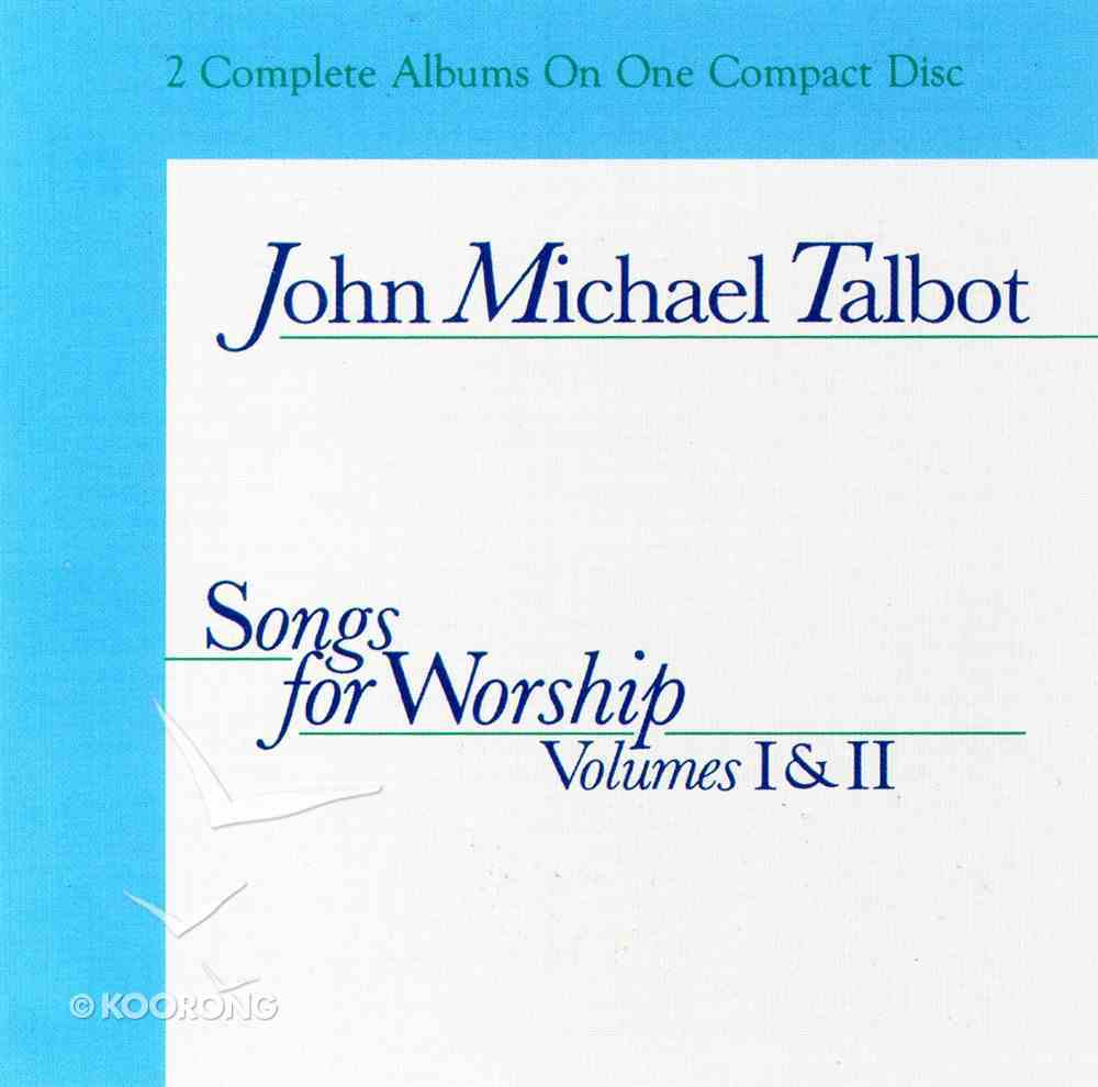 Songs For Worship Volume 1 and Vol 2 CD