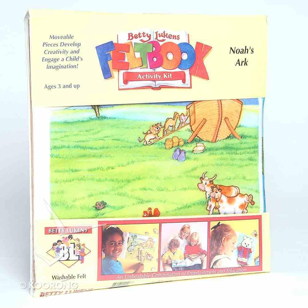 Lukens Felt Book 07: Noah's Ark Flannelgraph