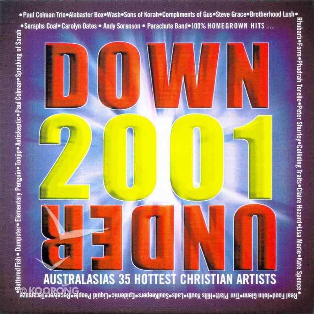 Down Under 2001: 30 Homegrown Hits CD