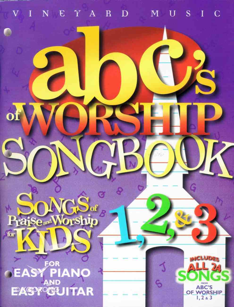 Abc's of Worship Songbook Paperback