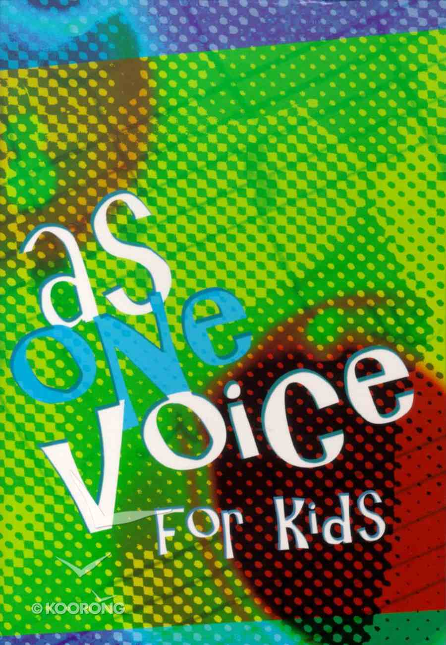 As One Voice For Kids: Hymnal Paperback