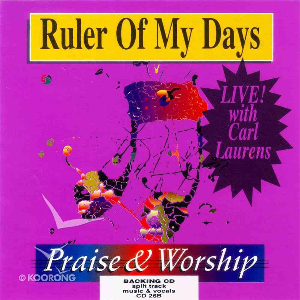 Rcm Volume D: Supplement 26 Ruler of My Days (Split Trax) (830-843) CD
