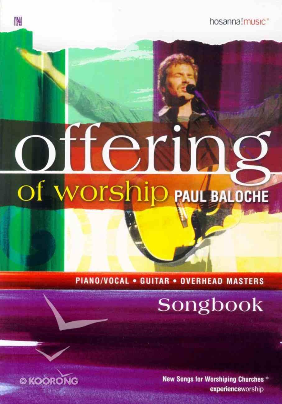 Offering of Worship Paperback