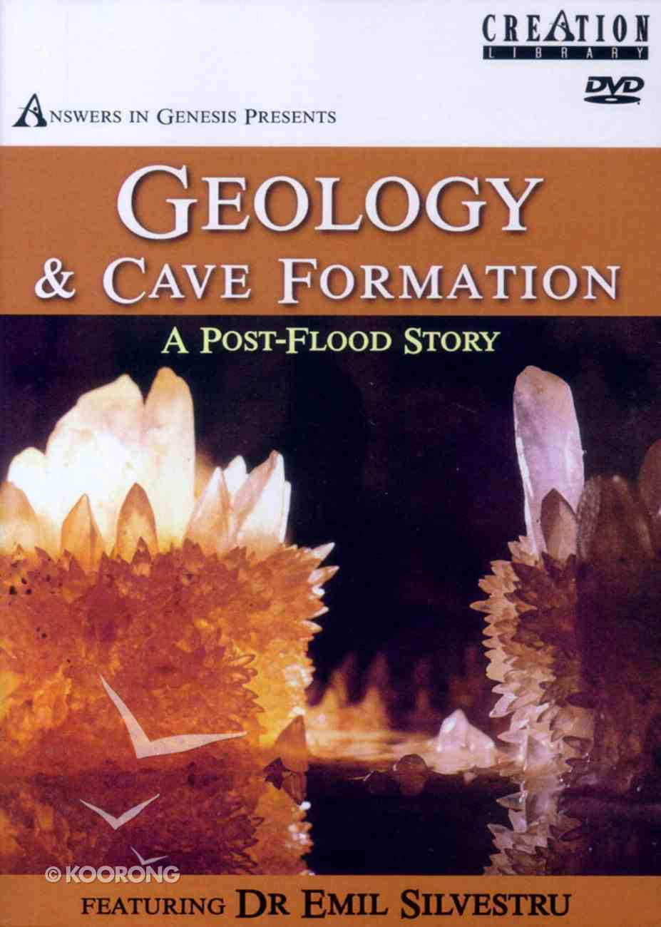 Geology & Cave Formations DVD