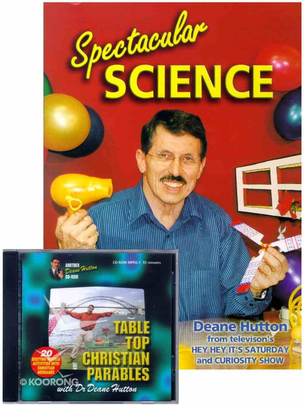 Spectacular Science/Table Top Christian Parables Pack (Cdrom) Pack