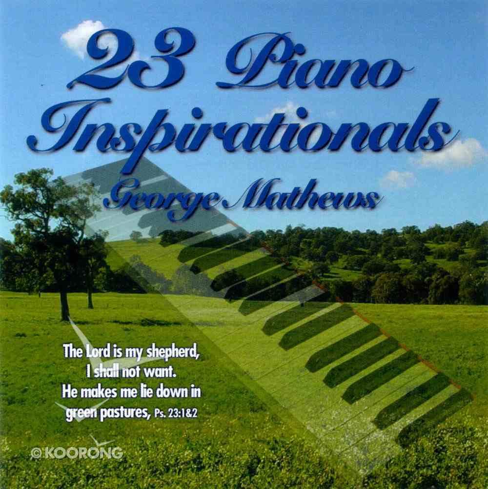 23 Piano Inspirationals CD