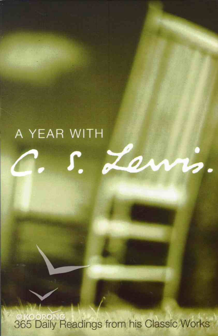 A Year With C.S. Lewis Paperback