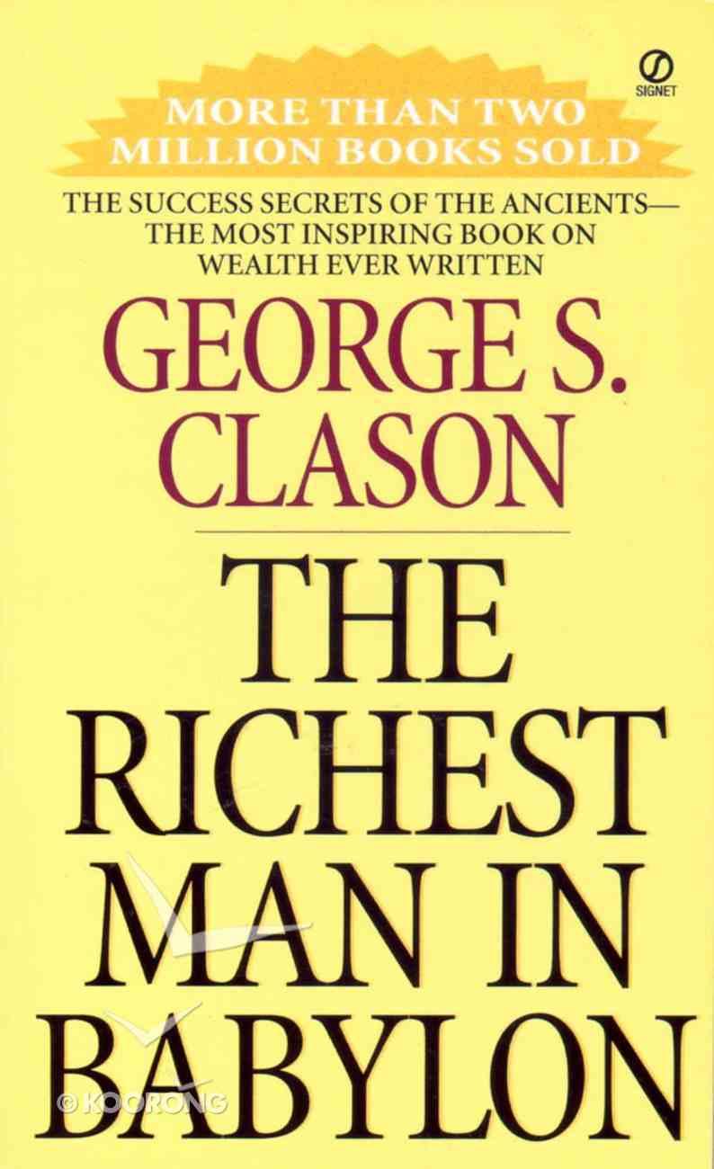 The Richest Man in Babylon Mass Market