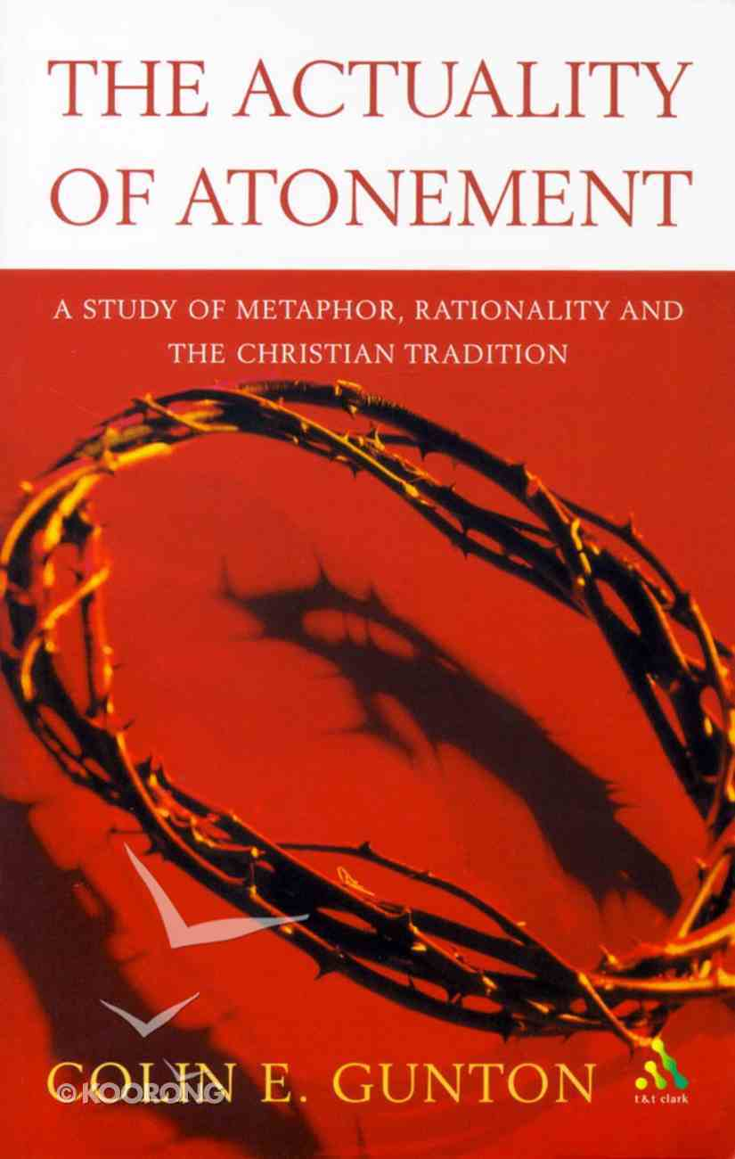 Actuality of Atonement Paperback