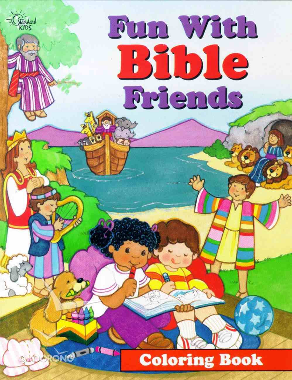 Fun With Bible Friends (Colouring Book) Paperback