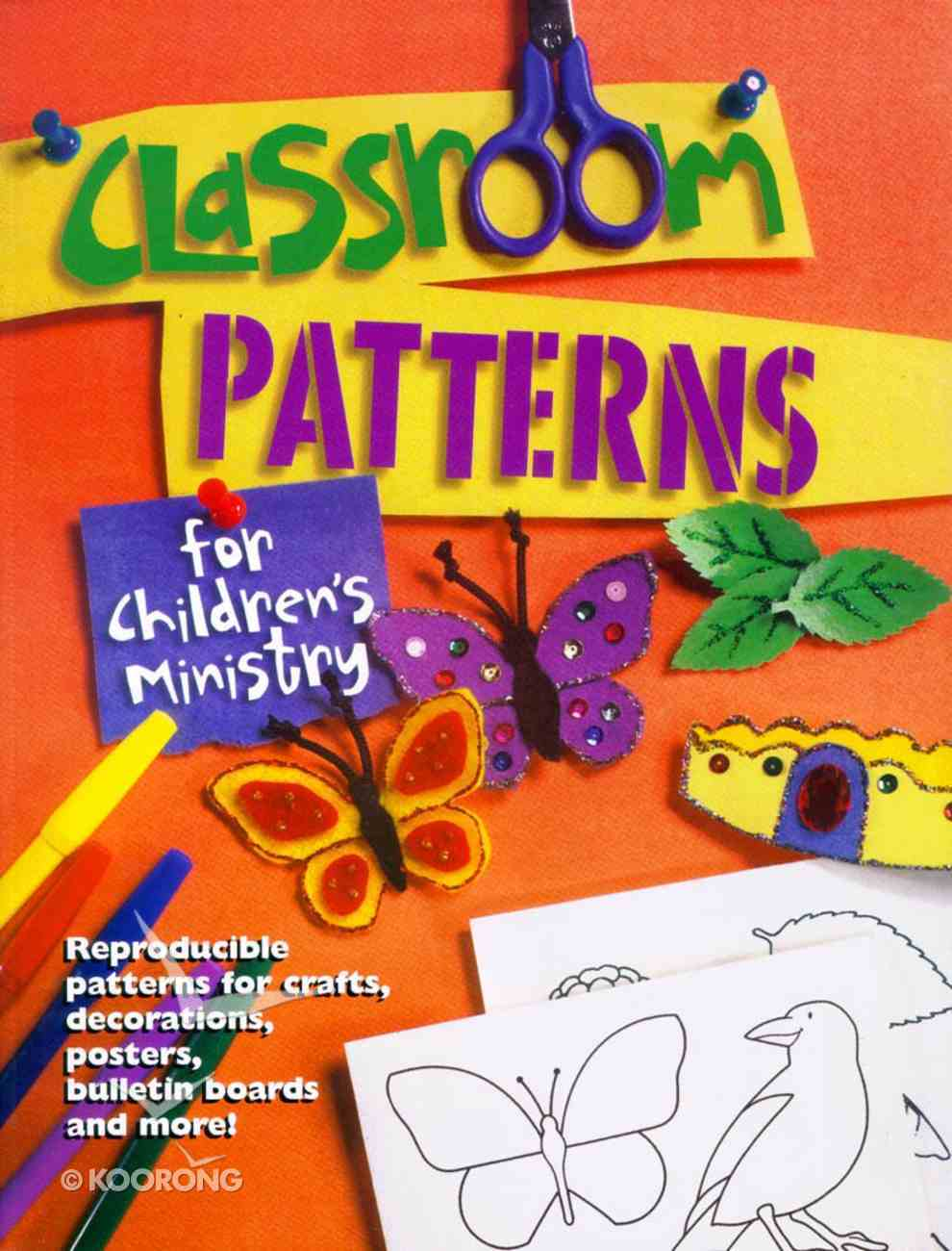 Classroom Pattern For Children's Ministry (Reproducible) Paperback