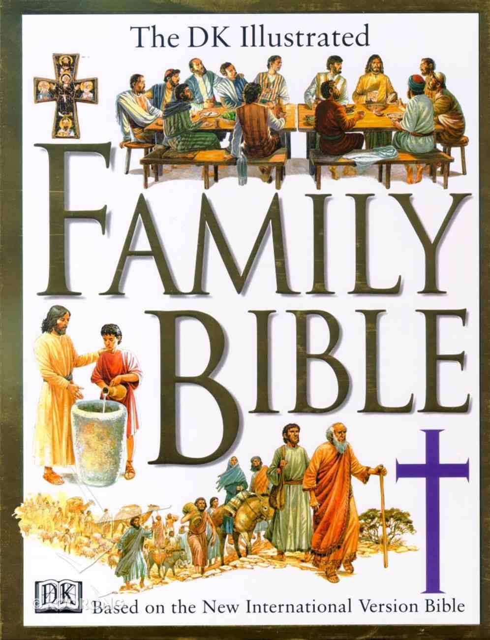 The Dk Illustrated Family Bible Hardback