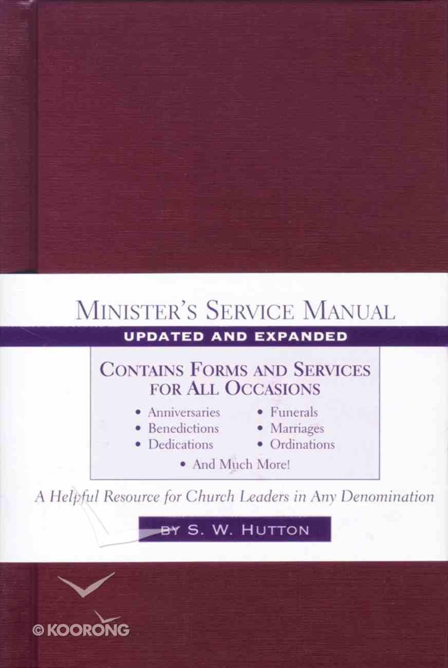 Minister's Service Manual (2003) Hardback