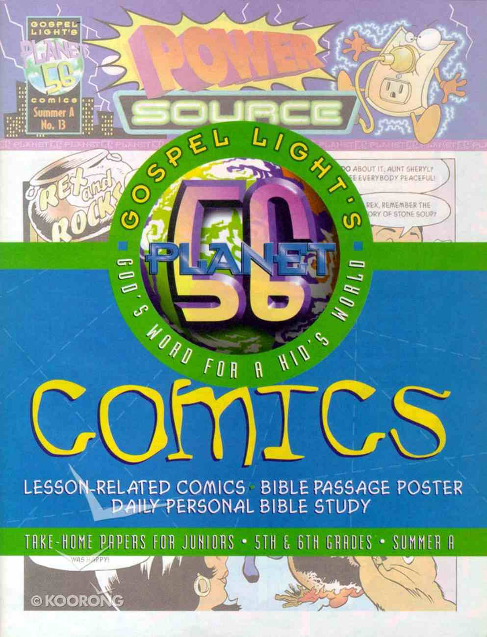 Planet 56 Junior (Gospel Light Living Word Series) Paperback