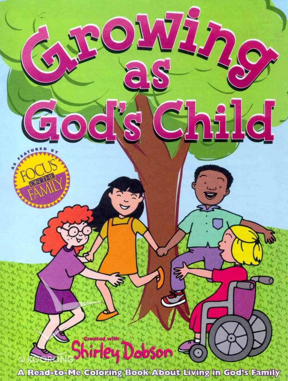 Colouring Book: Growing as God's Child Paperback