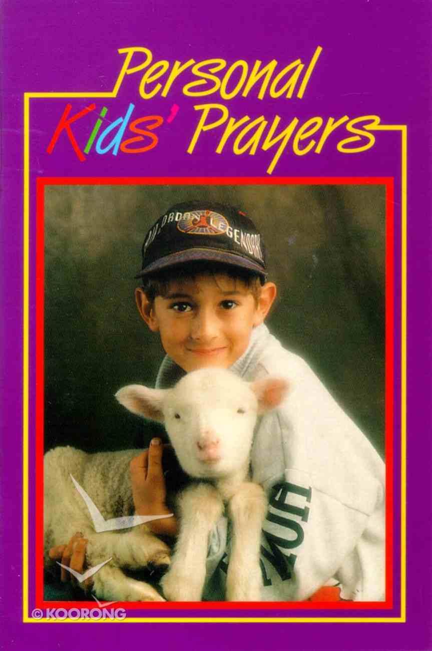 Personal Kids Prayers Paperback
