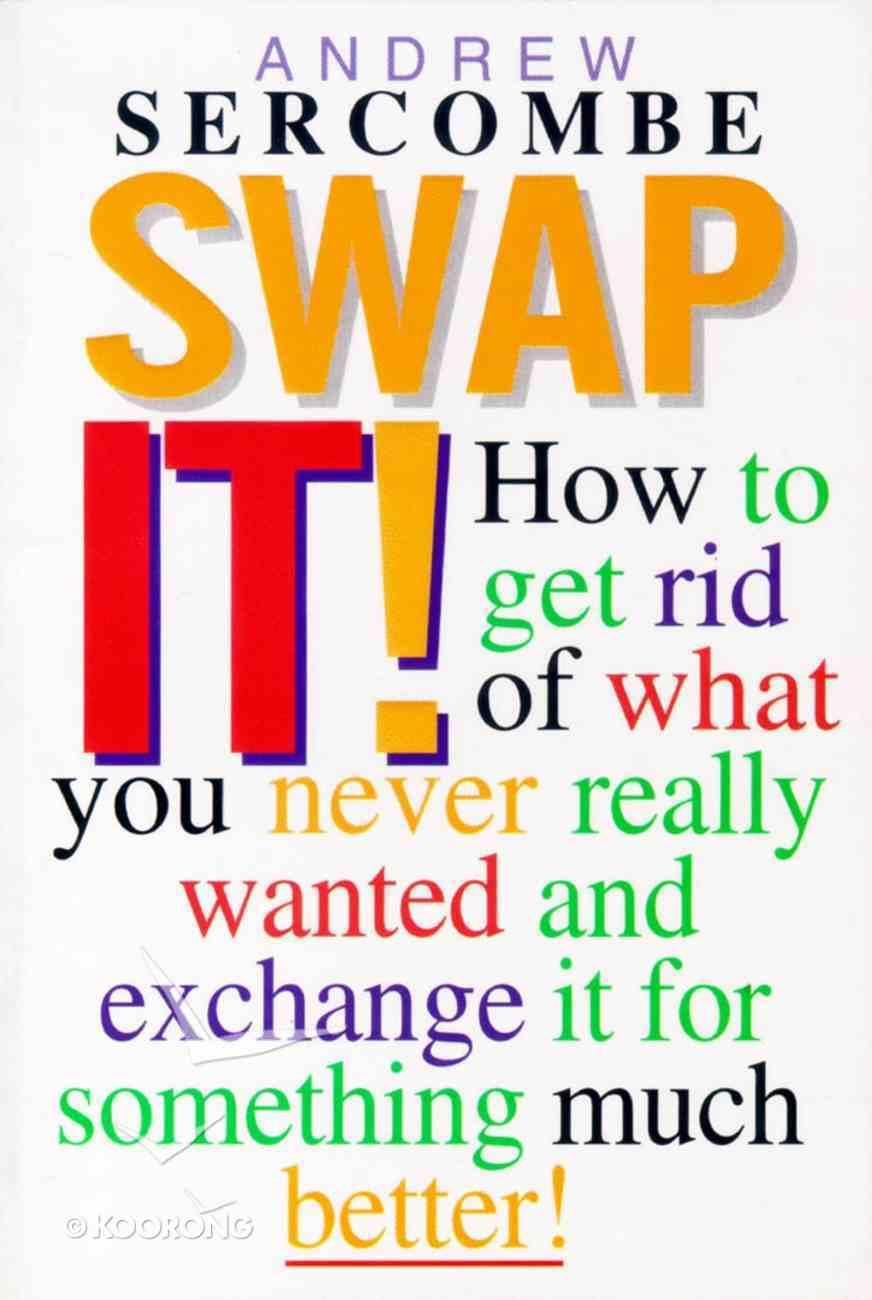 Swap It! Paperback