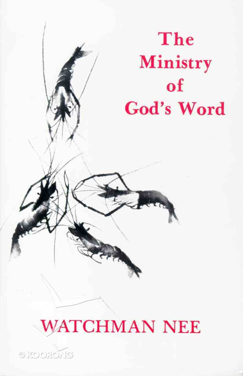 The Ministry of God's Word Paperback