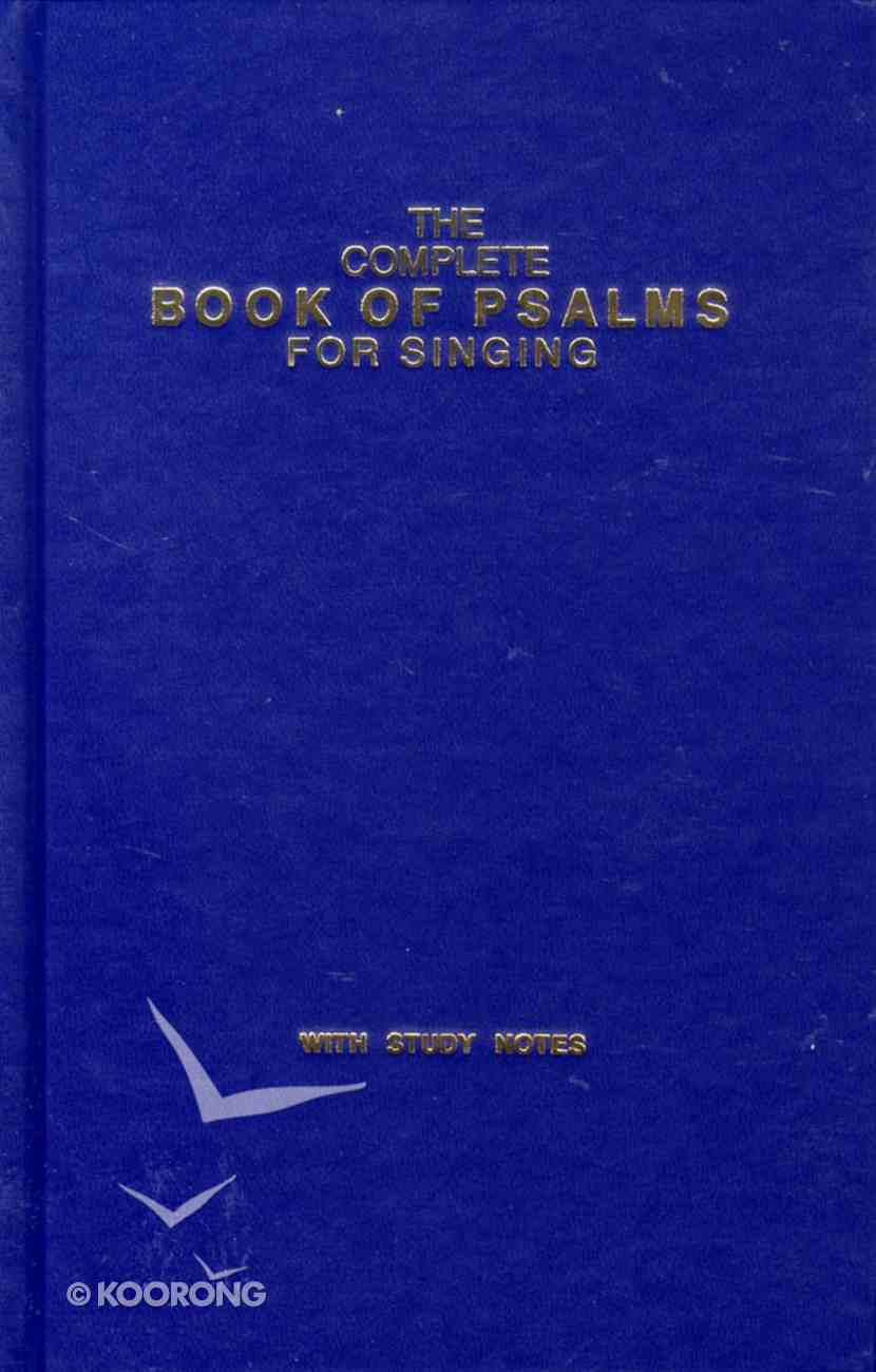 Complete Book of Psalms (Music Book) (Plain) Hardback