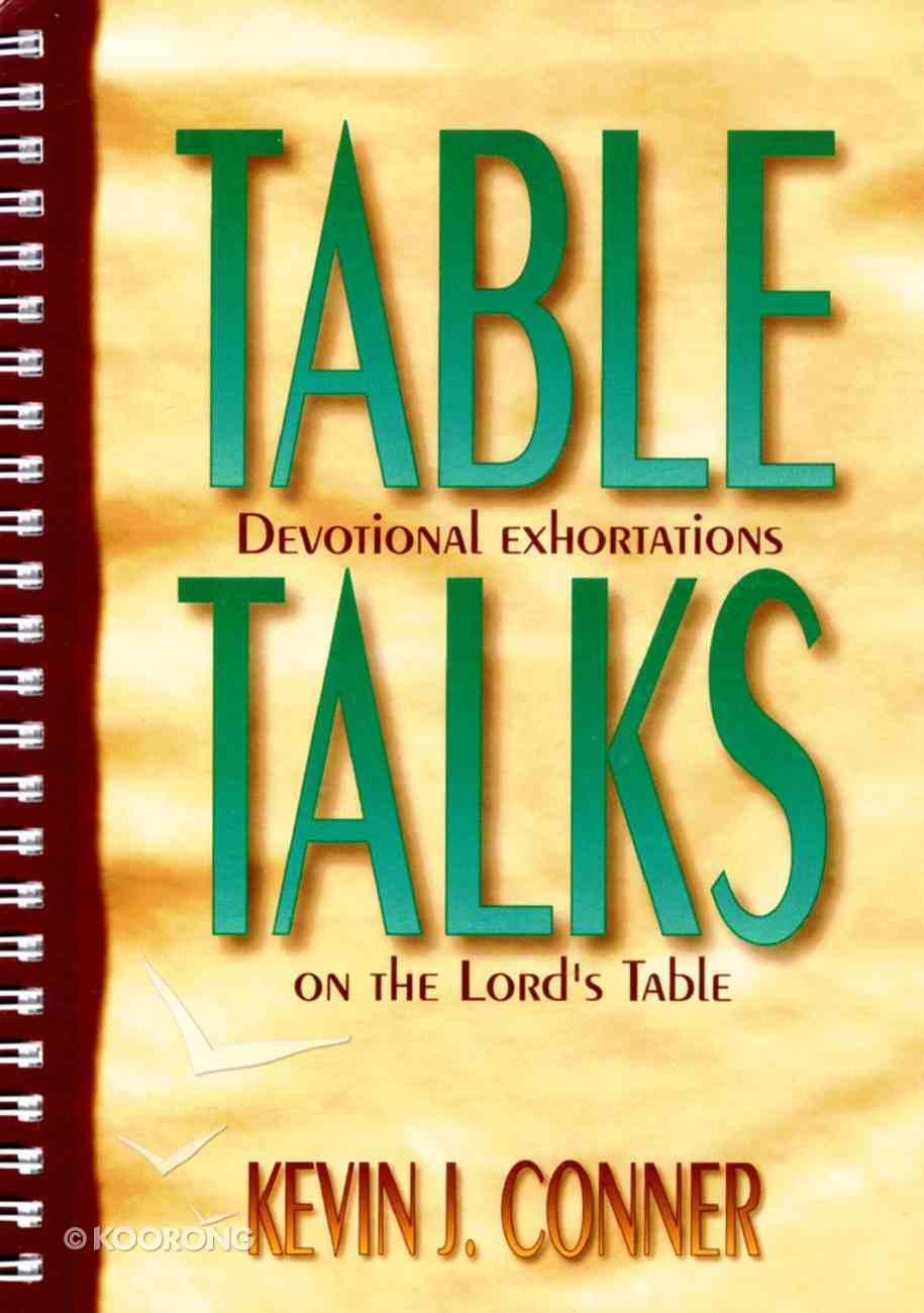 Table Talks Paperback