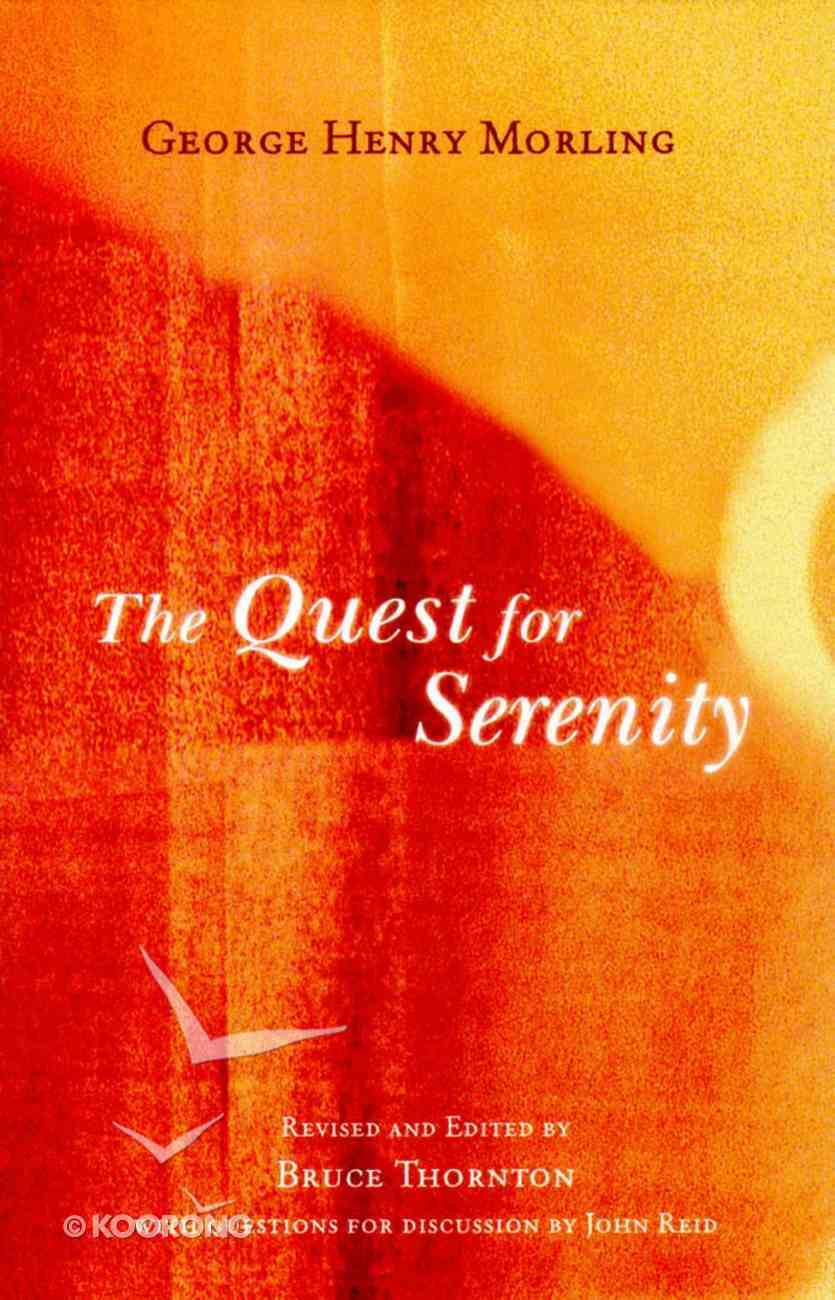The Quest For Serenity Paperback