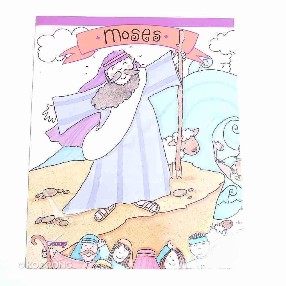 Moses (Bible Big Book Series) Paperback