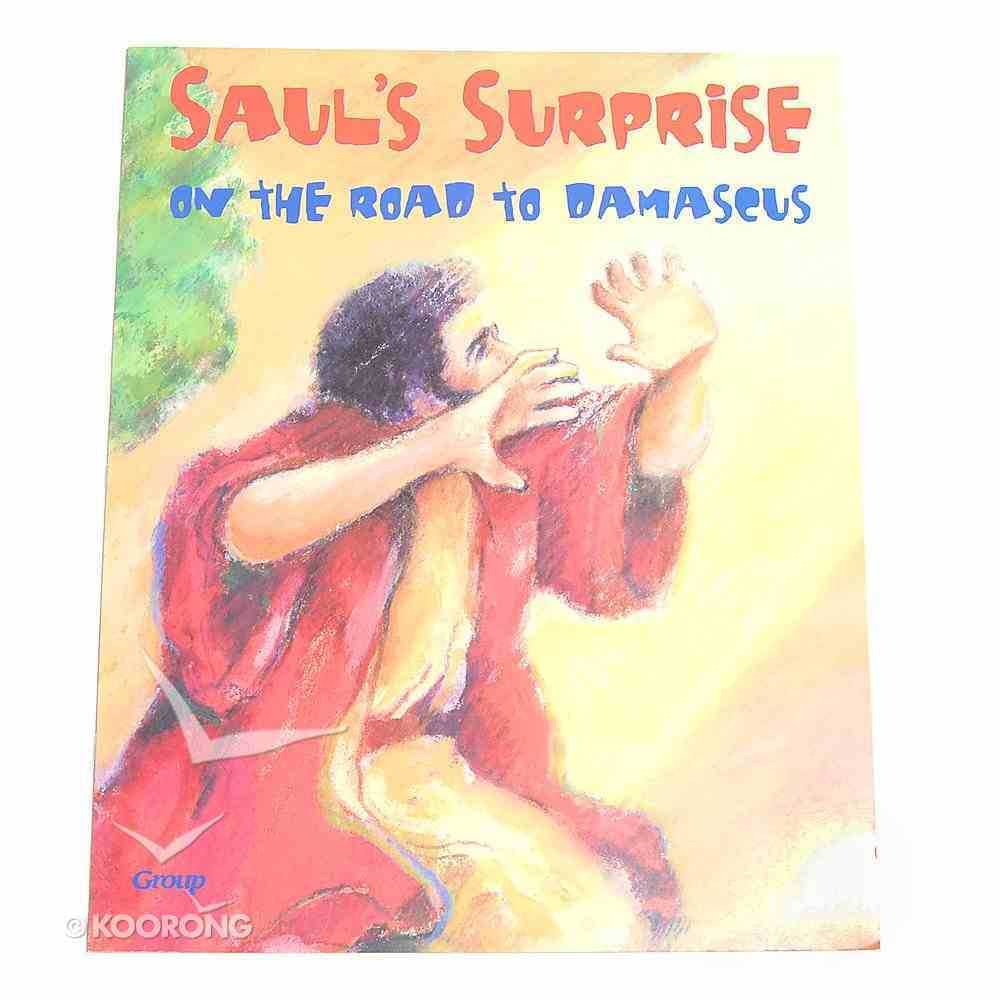 Saul's Surprise on the Road to Damascus (Bible Big Book Series) Paperback