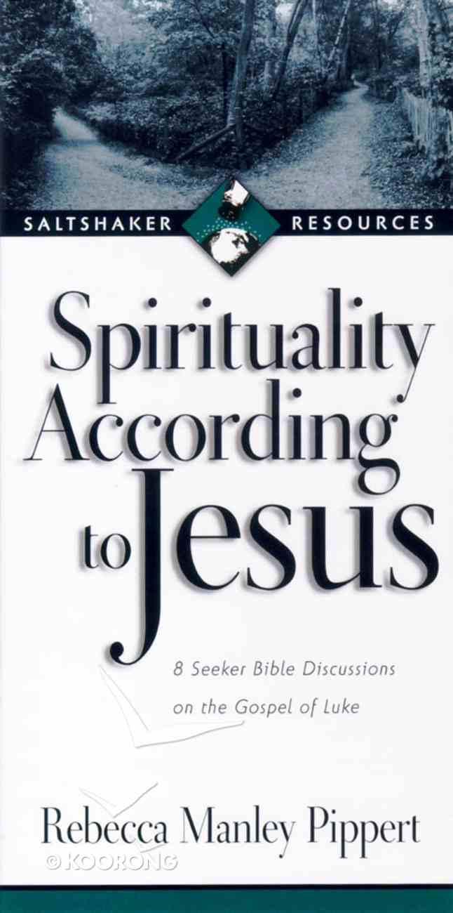 Saltshaker Resources: Spirituality According to Jesus Paperback