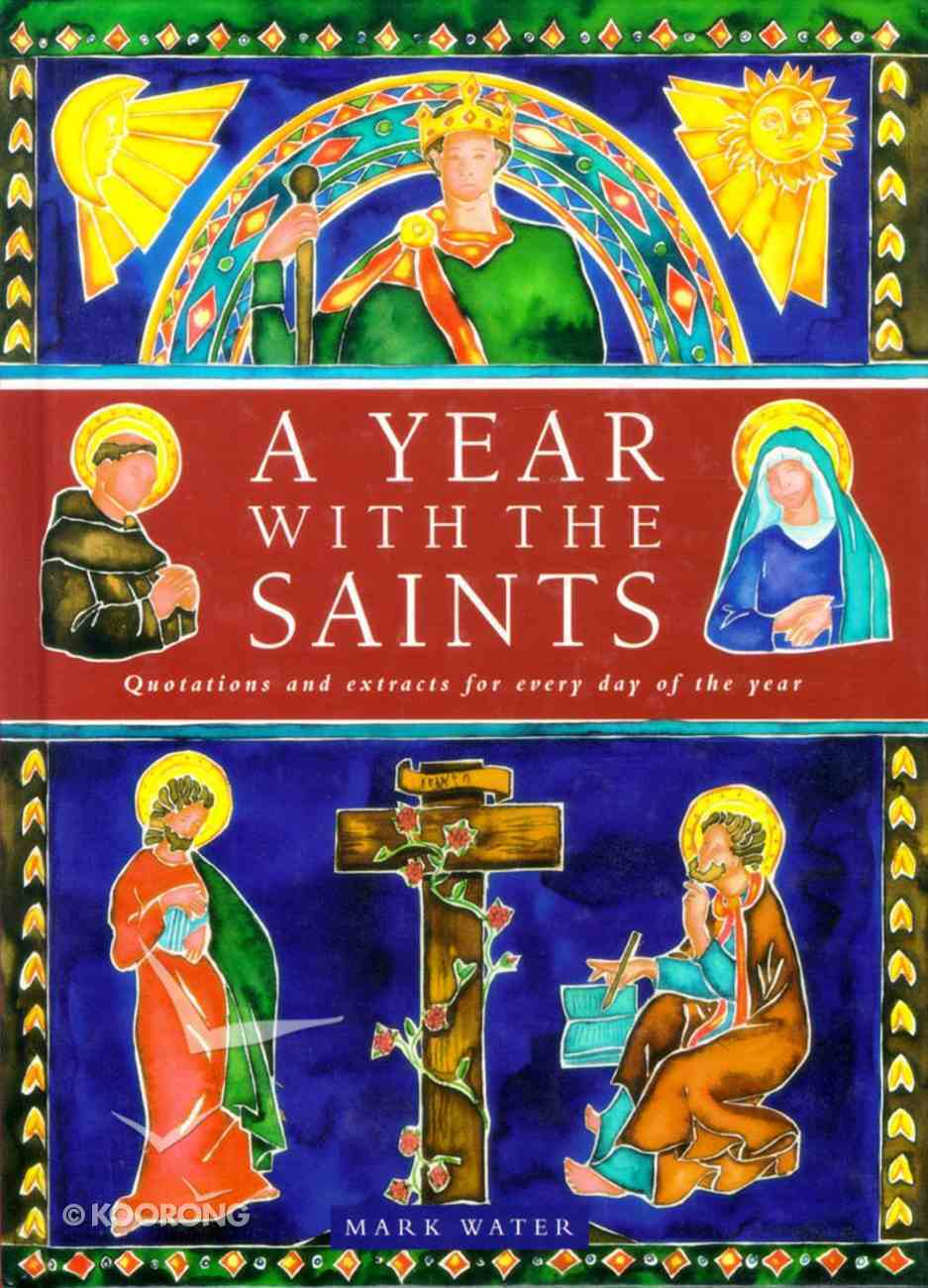 A Year With the Saints Hardback