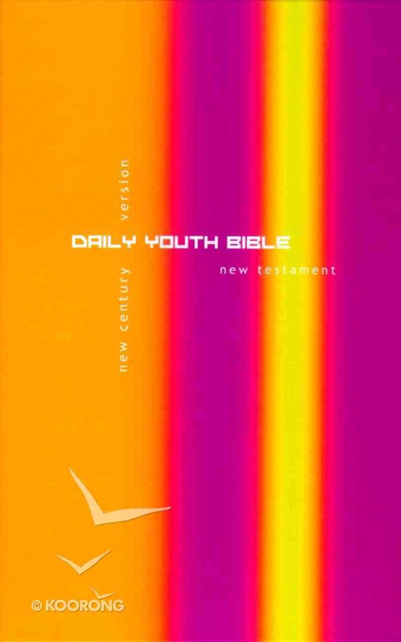 Ncv Daily Youth New Testament Purple/Yellow Hardback