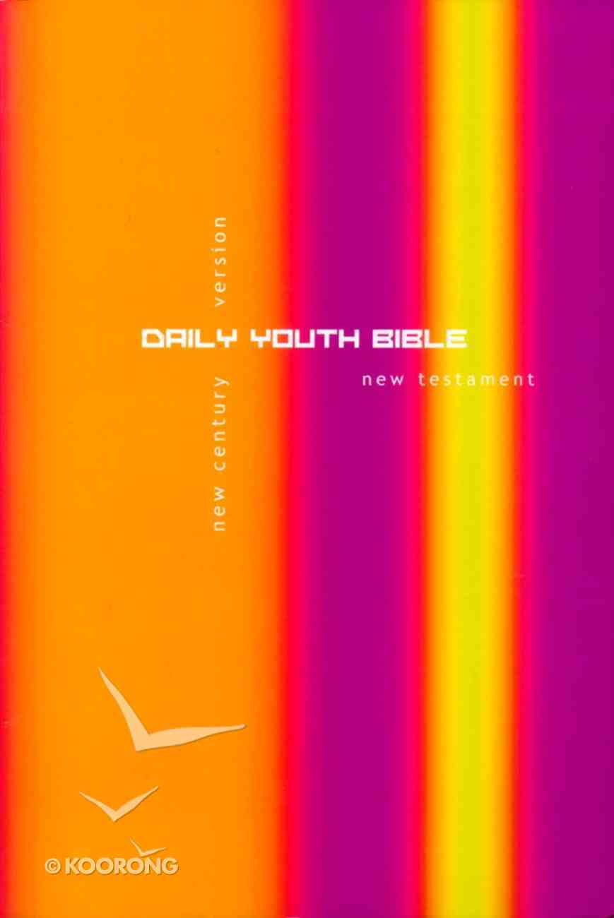 Ncv Daily Youth New Testament Purple/Yellow Paperback