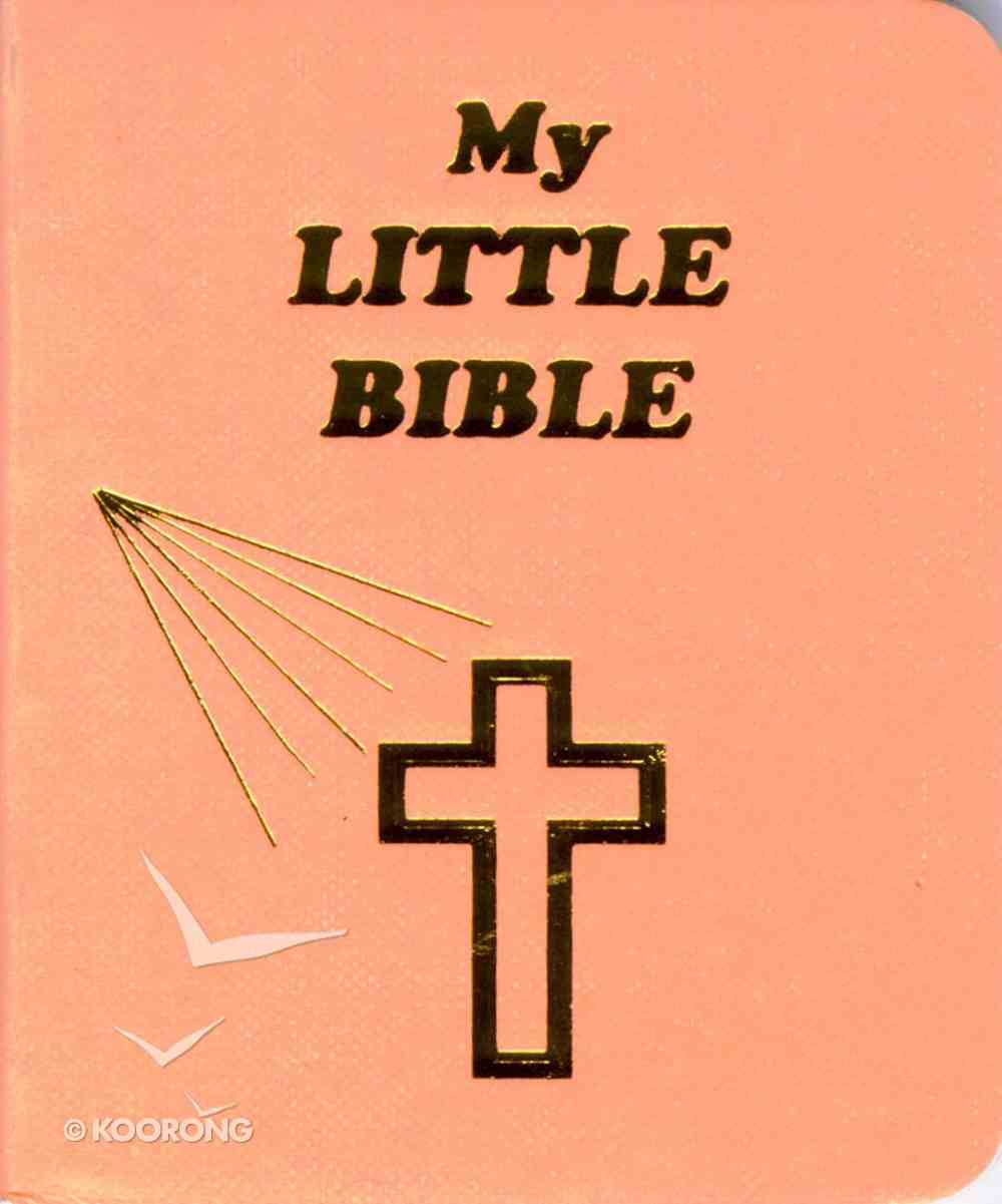 Novelty: My Little Bible Peach Novelty
