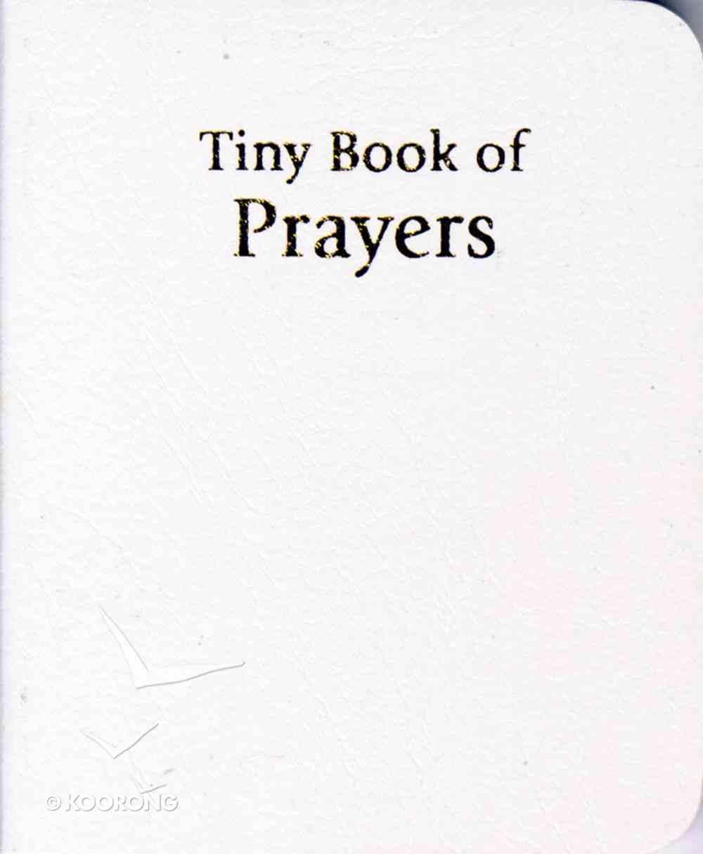 Novelty: Tiny Book of Prayers White Novelty
