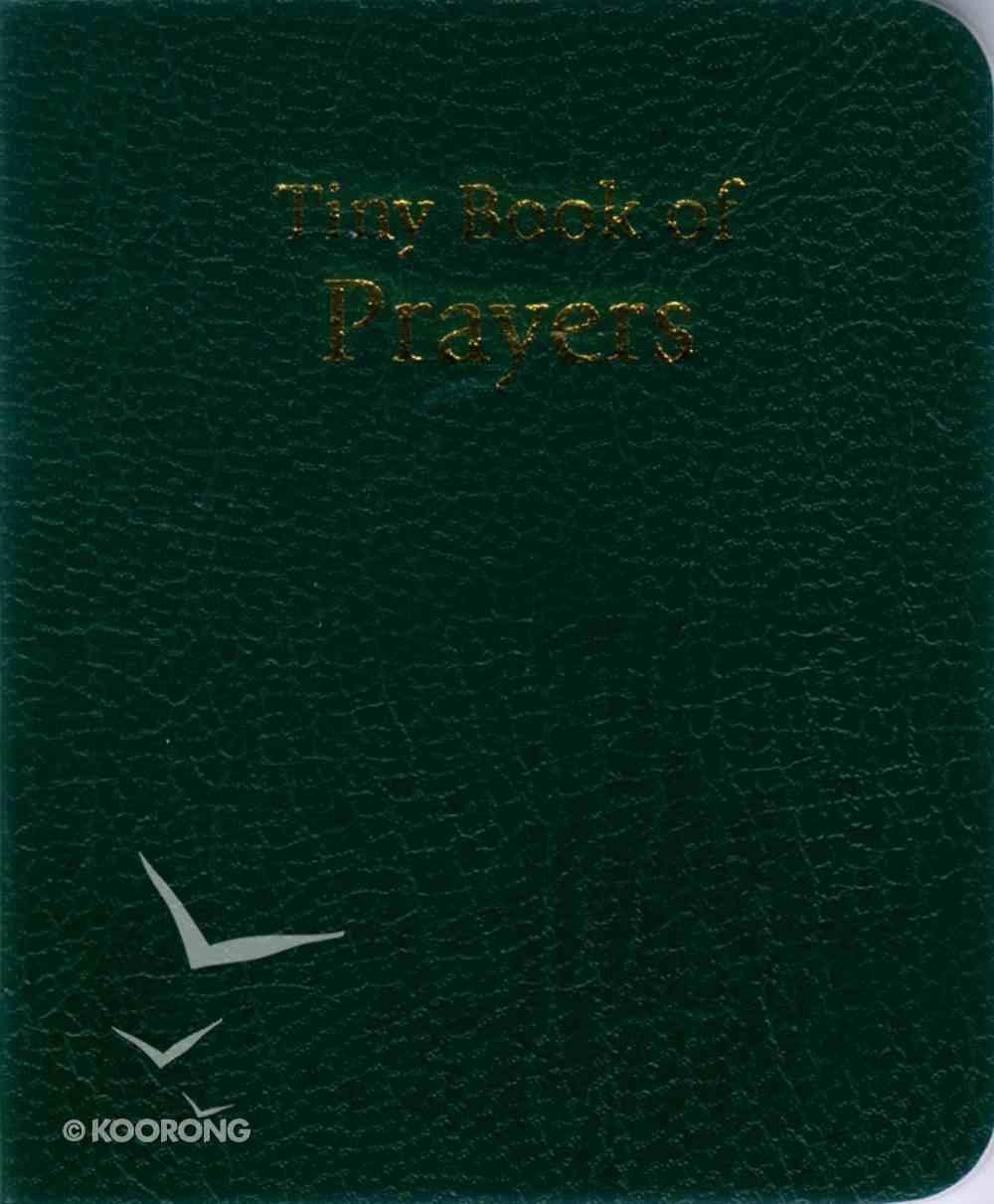 Novelty: Tiny Book of Prayers Green Novelty
