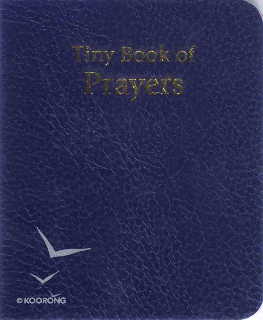 Novelty: Tiny Book of Prayers Blue Novelty