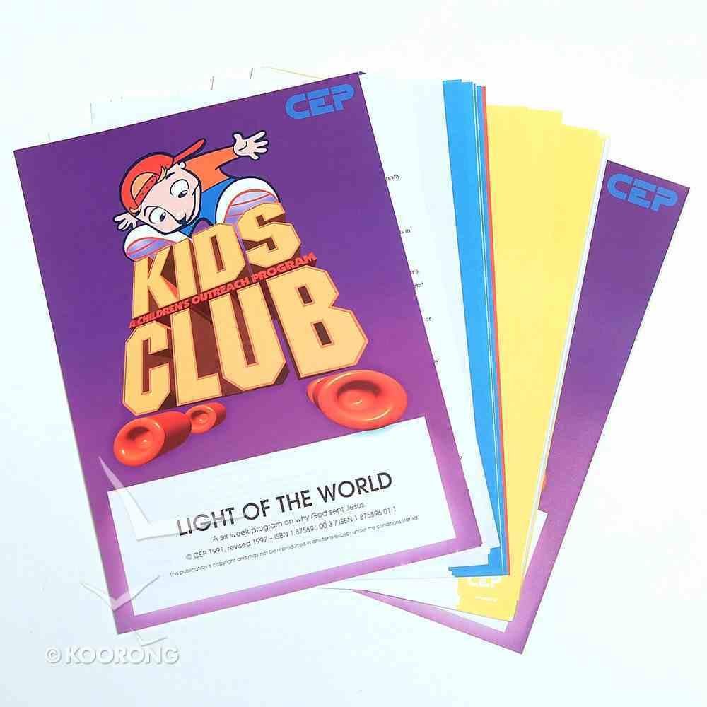 Kids Club: Light of the World Pack