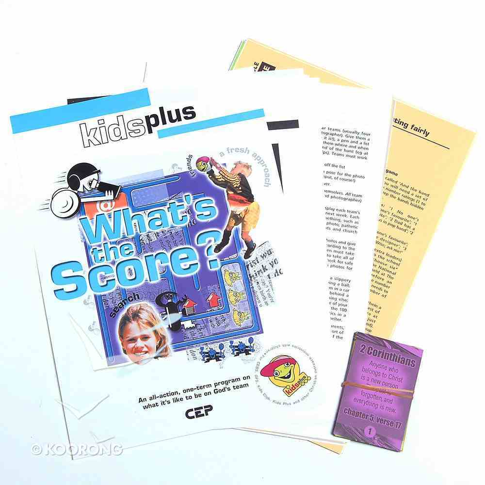 What's the Score (Leader's Pack) (Kids Plus Series) Pack