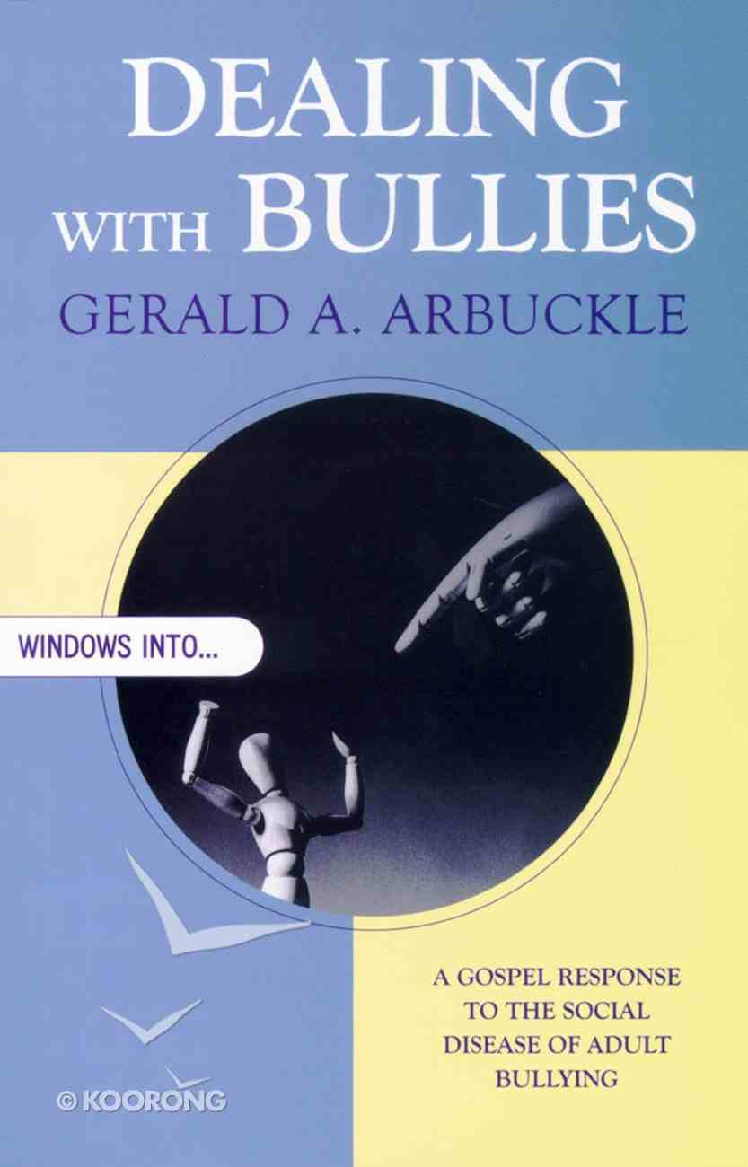 Dealing With Bullies Paperback