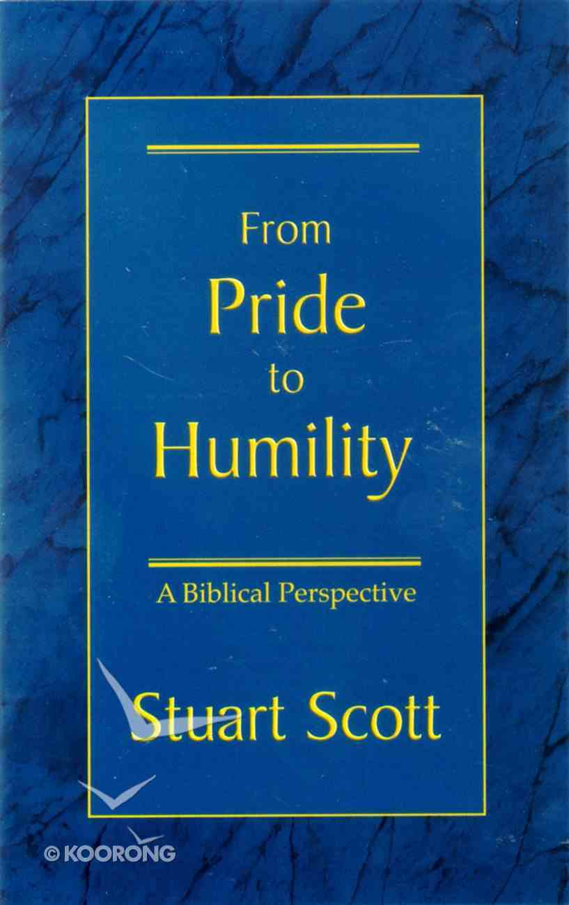 From Pride to Humility Booklet