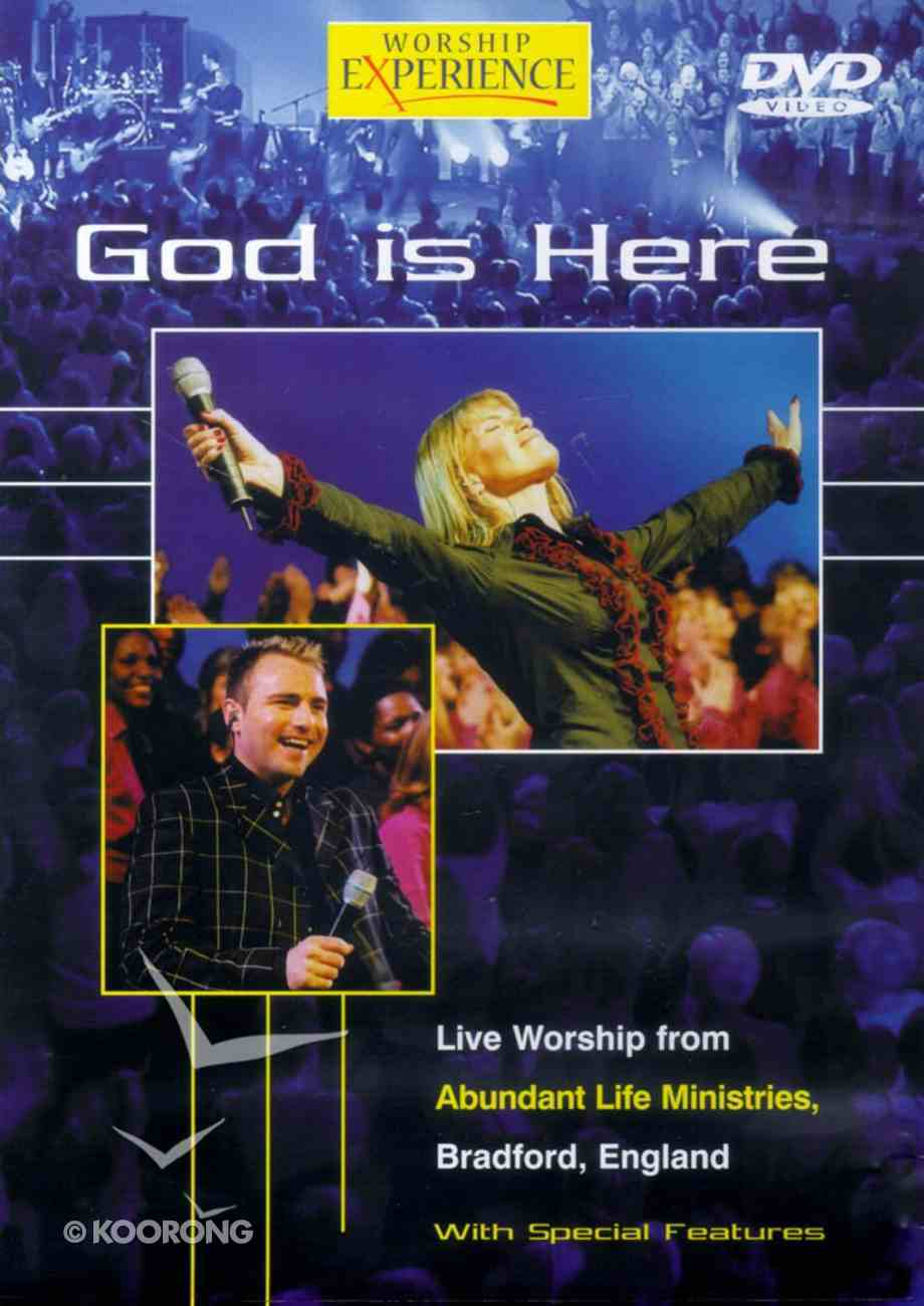 God is Here (Worship Experience Series) DVD