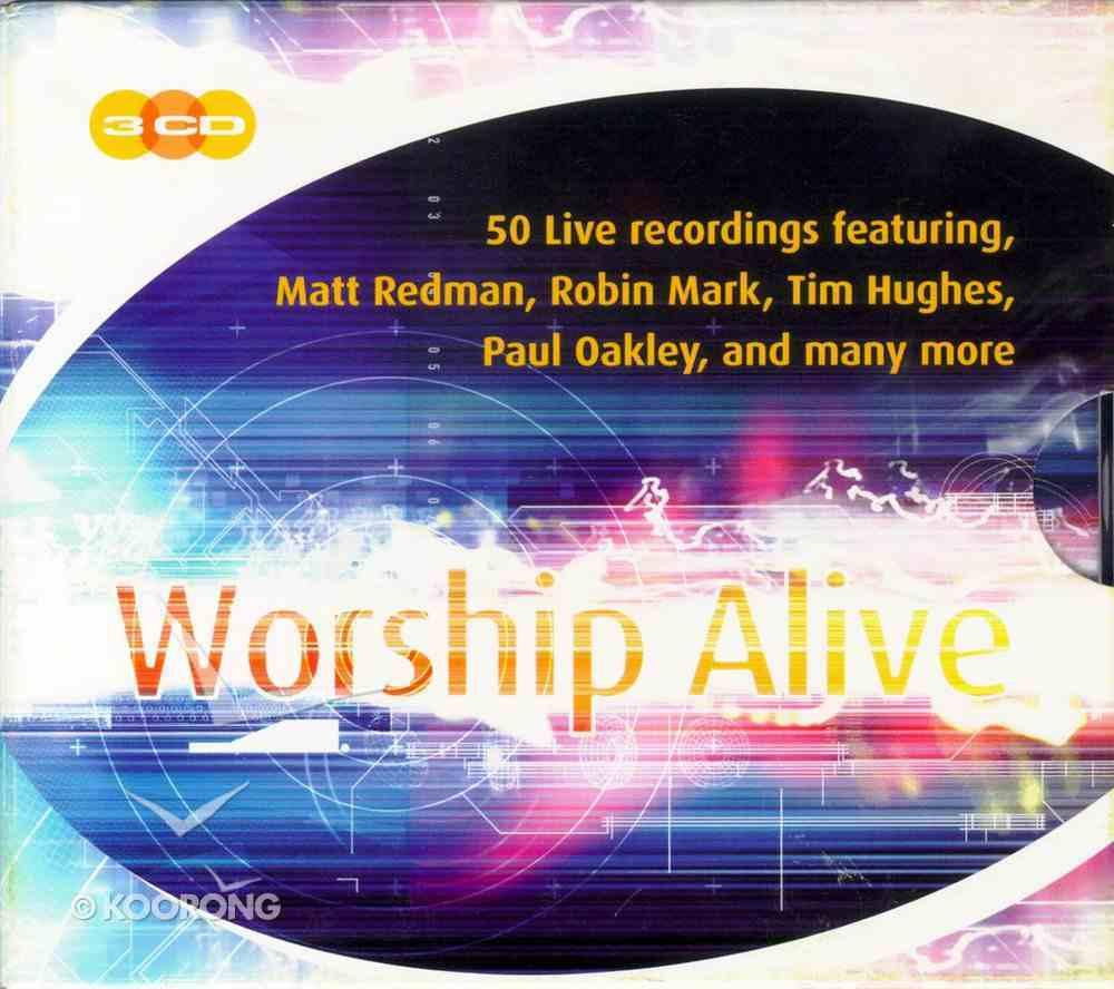 Worship Alive (3 Cd Boxed Set) CD