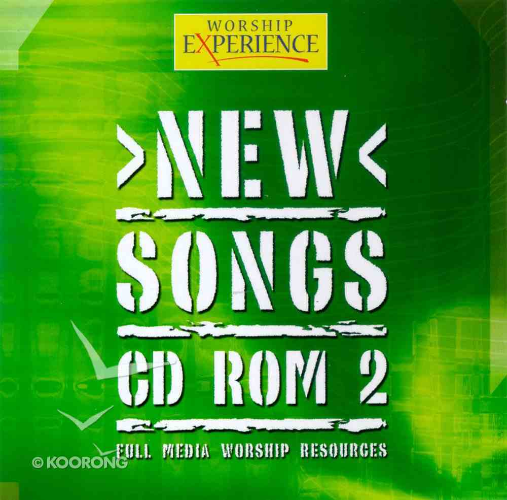 CDROM (#02 in Worship Experience New Songs Series) CD-rom