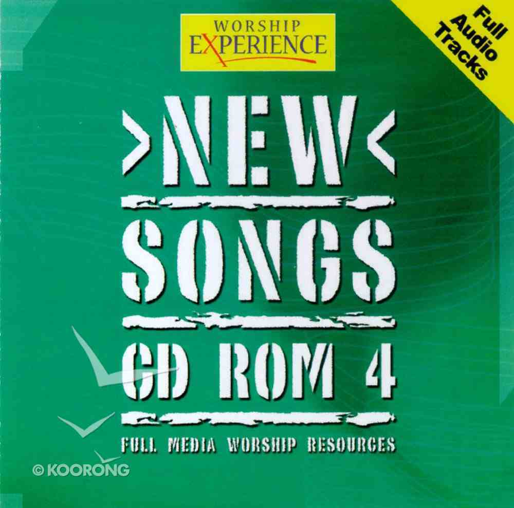 CDROM (#04 in Worship Experience New Songs Series) CD-rom