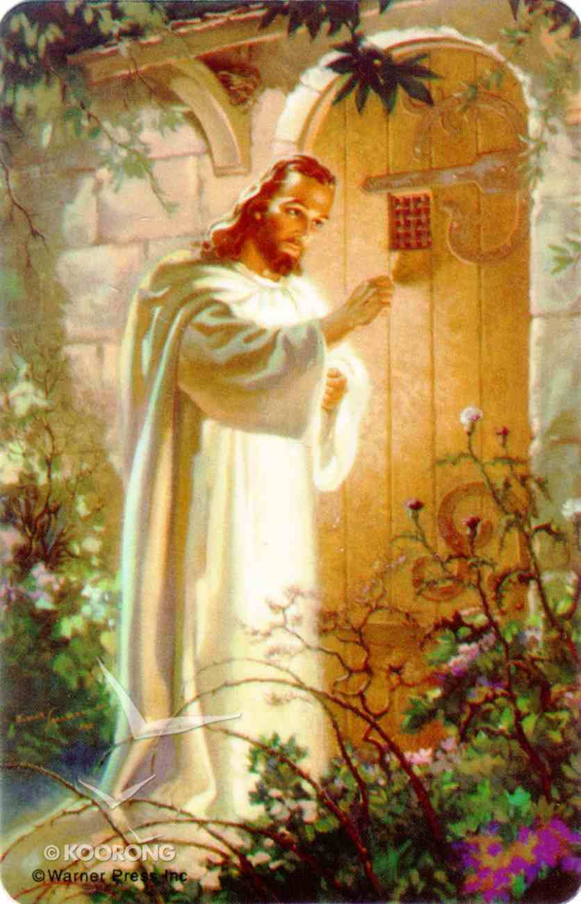 Pocket Card: Christ At Heart's Door Stationery