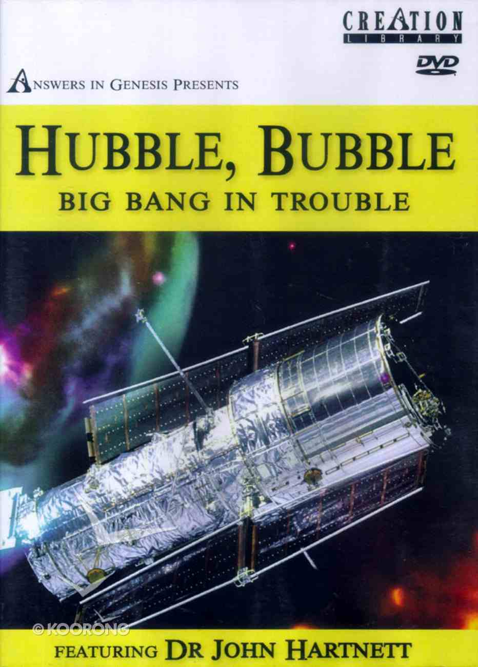 Hubble, Bubble Big Bang in Trouble DVD