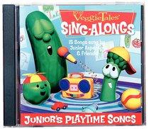 Album Image for Junior's Playtime Songs (Veggie Tales Music Series) - DISC 1