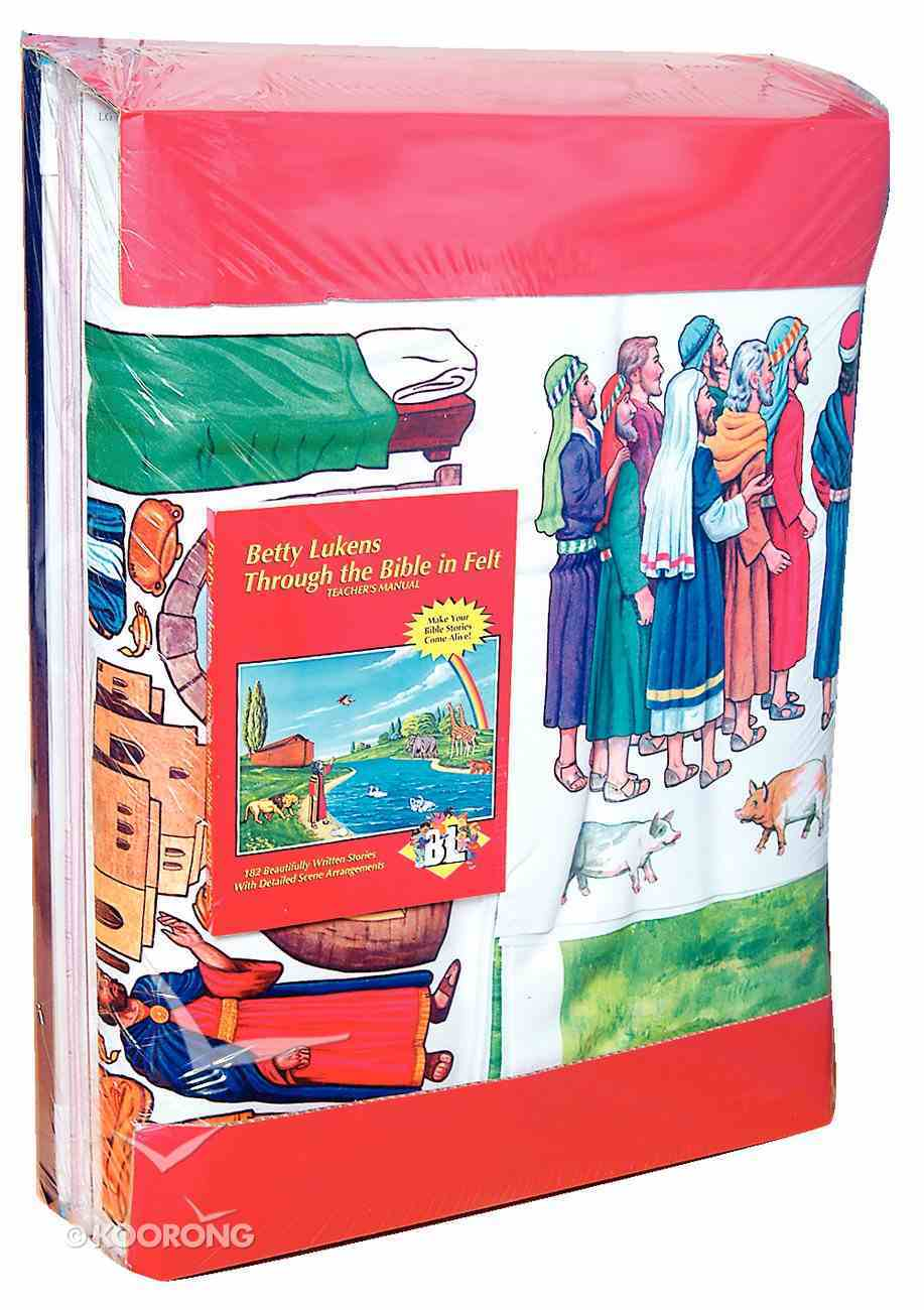 Lukens Deluxe Large Bible Story Set Flannelgraph